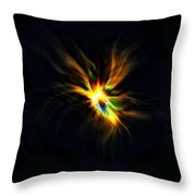 Formation Of A Thought... Throw Pillow