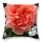 Formidable Bloom Throw Pillow