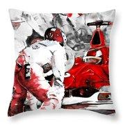 Formula 1 Bis Throw Pillow