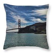 Fort Baker View Throw Pillow