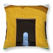 Fort Castillo San Felipe Del Morro Throw Pillow by Bryan Mullennix