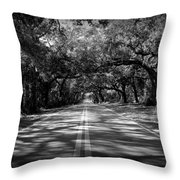 Fort Dade Ave Throw Pillow