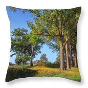Fort Donelson Throw Pillow