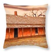 Fort Hays Winter Throw Pillow