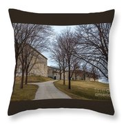Fort Independence Throw Pillow