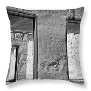 Fort Laramie Throw Pillow
