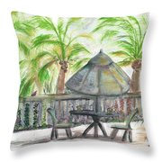 Fort Lauderdale By The Sea Throw Pillow