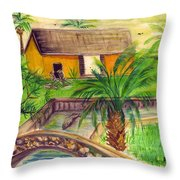 Fort Lauderdale Manistee Throw Pillow