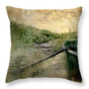 Fort Lauderdale Sunday Throw Pillow