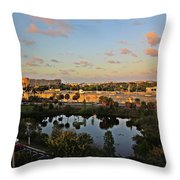 Fort Lauderdale View Throw Pillow