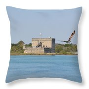 Fort Matanzas Throw Pillow