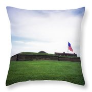 Fort Mchenry Throw Pillow