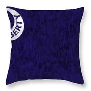 Fort Moultrie Flag Throw Pillow