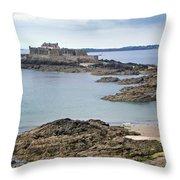 Fort National Throw Pillow