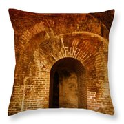 Fort Pickens Throw Pillow