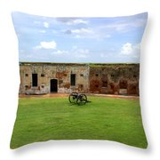 Fort Pike - #6 Throw Pillow