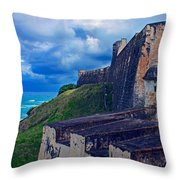 Fort San Cristobal Throw Pillow