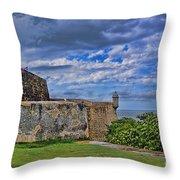 Fort San Felipe Del Morro  Throw Pillow