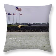 Fort Sumter Throw Pillow