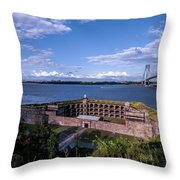Fort Wadsworth Throw Pillow