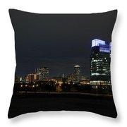 Fort Worth Chesapeake Plaza Throw Pillow