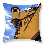 Forte De San Tiago Throw Pillow