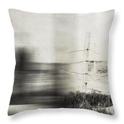 Forth And Back  Throw Pillow