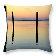 Forth Be Gone B Throw Pillow