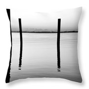 Forth Be Gone  Throw Pillow