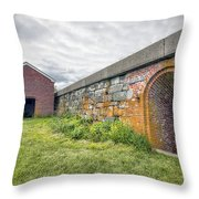 Fortifications Throw Pillow