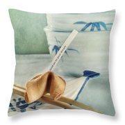 Fortune Cookie Throw Pillow