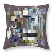 Forty Nine Shades Of Gray II Throw Pillow