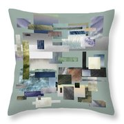 Forty Nine Shades Of Gray IIi Throw Pillow