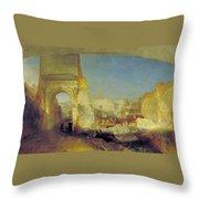 Forum Romanum Throw Pillow