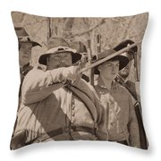 Forward March Throw Pillow