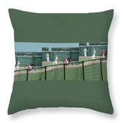 Foul Ball 3 Panel Composite Throw Pillow