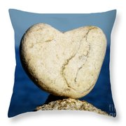 Found Heart Throw Pillow