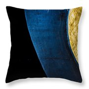 Foundation Number 18 Throw Pillow by Bob Orsillo