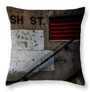Foundation Number Nineteen Throw Pillow