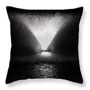 Fount @ Venezia 2 Throw Pillow