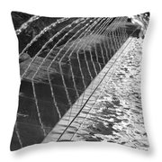 Fountain Art Throw Pillow