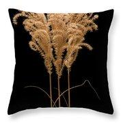 Fountain Grass Throw Pillow
