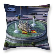 Fountain Of Cebeles II Throw Pillow