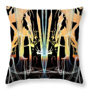 Fountain Of Happiness Throw Pillow