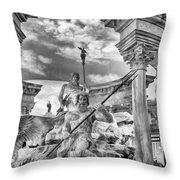 Fountain Of The Gods Throw Pillow