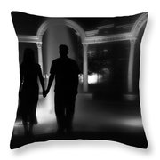 Fountain Retreat - Arkansas - Conway - Uca Throw Pillow