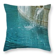 Fountain St Francisville Inn Louisiana Throw Pillow