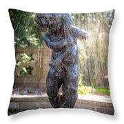 Fountain Throw Pillow