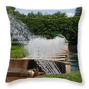 Fountains Throw Pillow