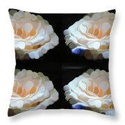 Four At Home Throw Pillow